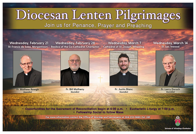 Pilgrimages Offered to West Virginia Faithful – Diocese of